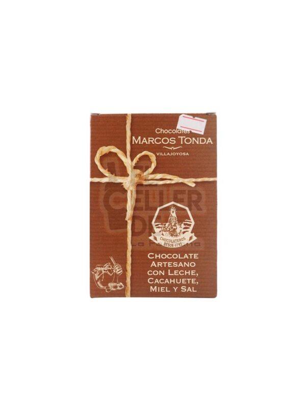 Chocolate Artesano Cacahuete y Miel